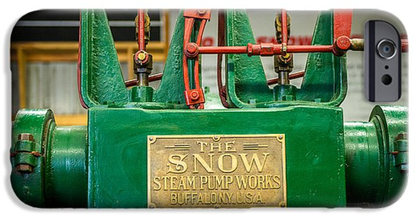Industry iPhone Cases - Steam Pump iPhone Case by Paul Freidlund