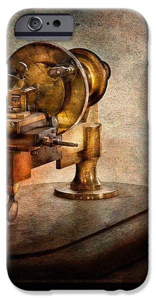 Steampunk - Gear Technology iPhone Case by Mike Savad