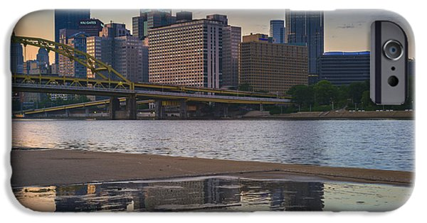 Allegheny iPhone Cases - Steel Reflections iPhone Case by Rick Berk