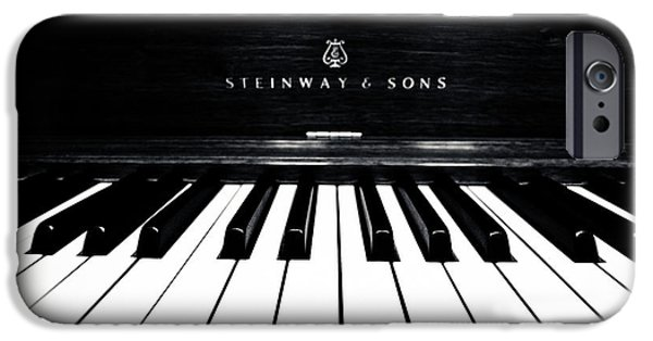 Piano iPhone Cases - Steinway and Sons iPhone Case by Sam Hymas