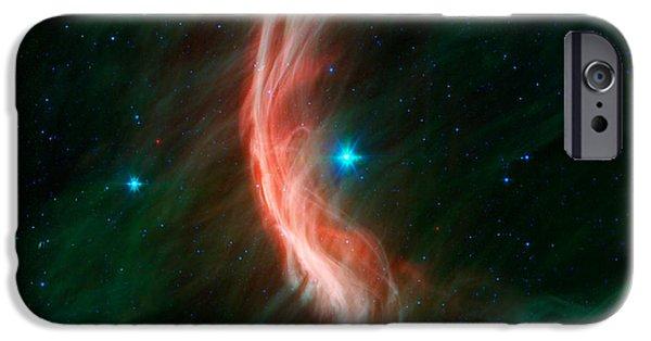 Stellar iPhone Cases - Stellar Winds Flowing iPhone Case by Stocktrek Images