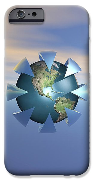 Technology iPhone Cases - Still Life On Earth iPhone Case by Phil Perkins