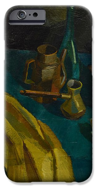 Autumn iPhone Cases - Still Life with Black Background iPhone Case by Igor Sakurov
