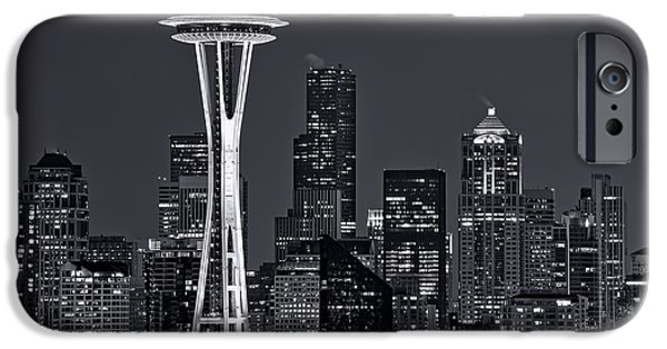 Seattle iPhone Cases - Still of the Night iPhone Case by Dan Mihai