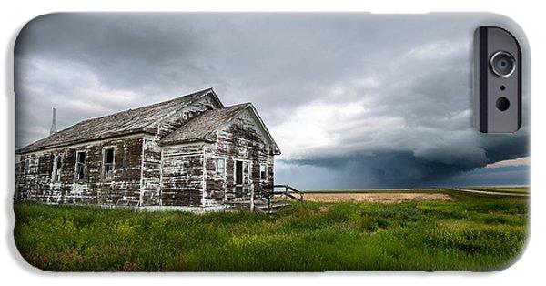 Nebraska iPhone Cases - Still Standing iPhone Case by Cody Lere
