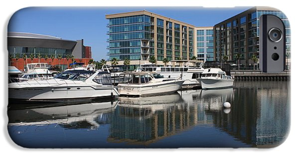 Stockton iPhone Cases - Stockton Waterscape iPhone Case by Carol Groenen