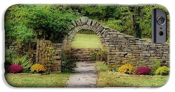 Grist Mill iPhone Cases - Stone Arches iPhone Case by Sandy Keeton