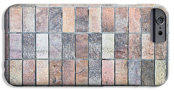 Flooring iPhone Cases - Stone tiles iPhone Case by Tom Gowanlock