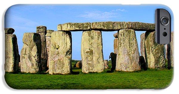 Sacrificial iPhone Cases - Stonehenge No 2 iPhone Case by Kamil Swiatek