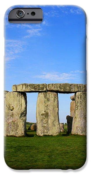 Stonehenge On a Clear Blue Day iPhone Case by Kamil Swiatek