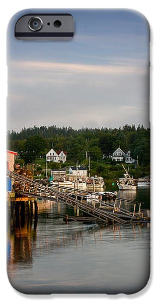 Stonington Lobster Co-op iPhone Case by Susan Cole Kelly