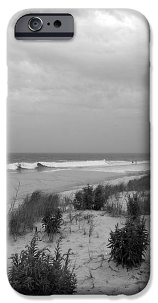 Storm Approaching - Jersey Shore iPhone Case by Angie Tirado