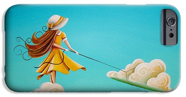 Illustrative iPhone Cases - Storm Development iPhone Case by Cindy Thornton