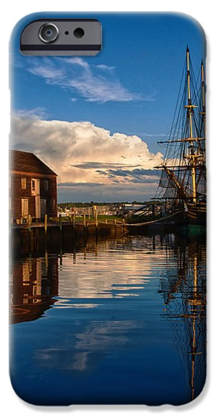 Storm iPhone Cases - Storm leaves reflection behind iPhone Case by Jeff Folger