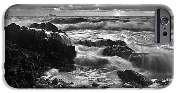 Storm iPhone Cases - Storm Surge iPhone Case by Bill  Robinson