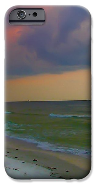 Storm Warning iPhone Case by Bill Cannon