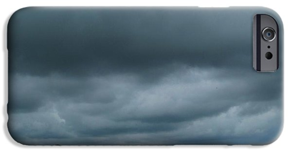 Rainy Day iPhone Cases - Storms Coming iPhone Case by J L Zarek