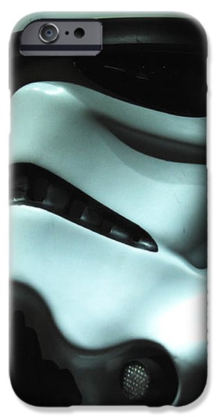 Stormtrooper Helmet iPhone Case by Micah May