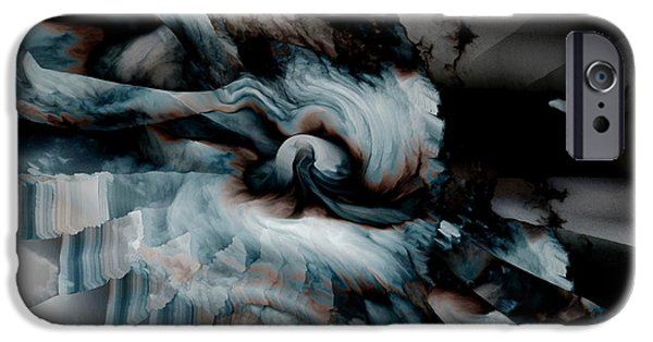 Fury iPhone Cases - Stormy Emotions iPhone Case by Stephen  Killeen