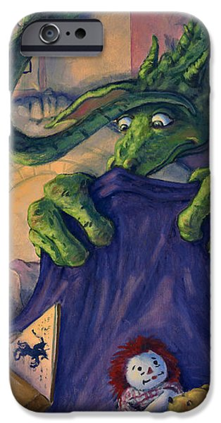 Story Time iPhone Case by Michael Orwick