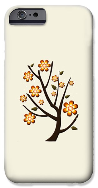 Beige iPhone Cases - Strange Season iPhone Case by Anastasiya Malakhova