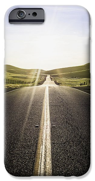Recently Sold -  - Asphalt iPhone Cases - Into The Sun iPhone Case by Blake Westmoreland