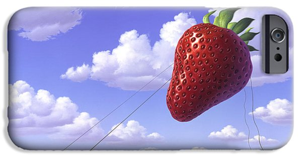 Distance iPhone Cases - Strawberry Field iPhone Case by Jerry LoFaro