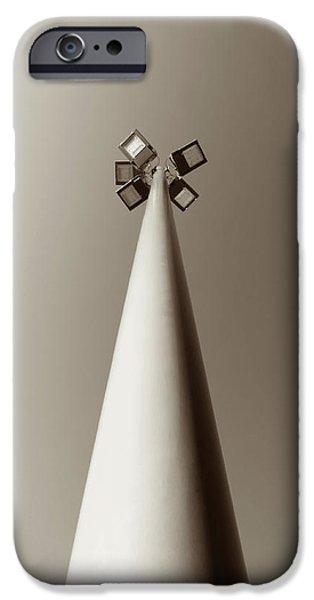 Streetlight iPhone Cases - Street Light iPhone Case by Wim Lanclus