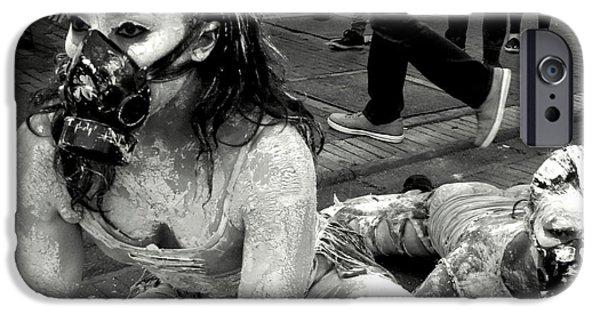 Fury iPhone Cases - Street Portrait   197 iPhone Case by Daniel Gomez