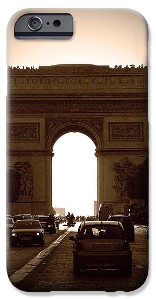 Streets of Paris iPhone Case by Kamil Swiatek