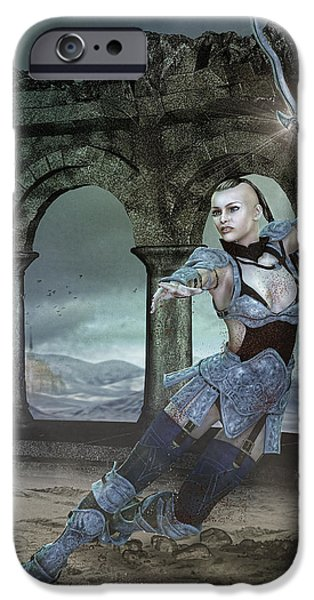 Strength and Honor iPhone Case by Karen K