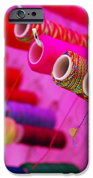 Color Photographs iPhone Cases - String Theory iPhone Case by Skip Hunt