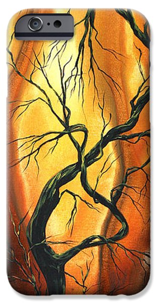 Contemporary Abstract iPhone Cases - Striving to be the Best by MADART iPhone Case by Megan Duncanson