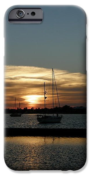 strolling in the sunset iPhone Case by Kimberly Mohlenhoff