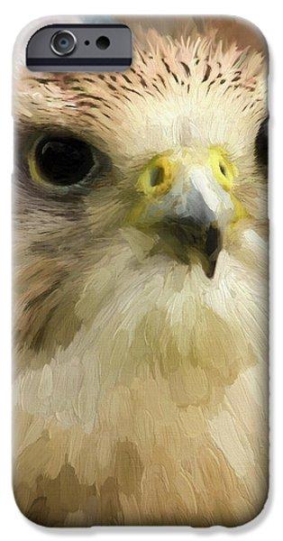 Flight iPhone Cases - Strong Enough - Wildlife Art iPhone Case by Jordan Blackstone