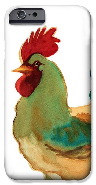 Rural iPhone Cases - Strut Your Stuff - 6 iPhone Case by Kathy Braud