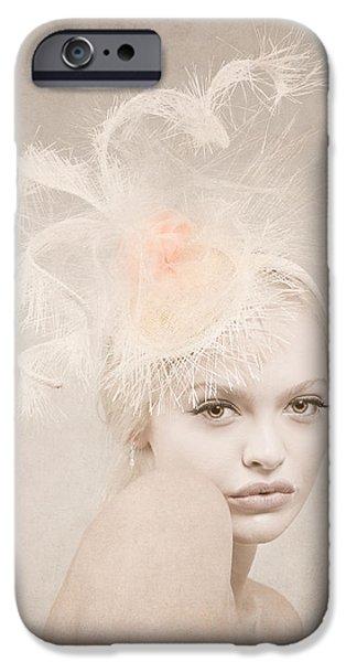 Pastel iPhone Cases - Subtle Elegance iPhone Case by Jurgen Lorenzen
