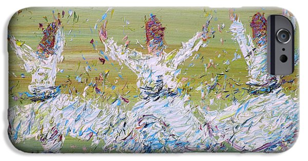 Rotate iPhone Cases - Sufi Whirling iPhone Case by Fabrizio Cassetta