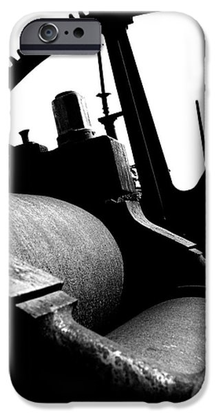 Rust iPhone Cases - Sugar Mill in Black and White iPhone Case by Shannon Graham