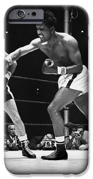 SUGAR RAY ROBINSON iPhone Case by Granger