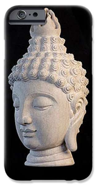 Stainless Steel iPhone Cases - Sukhothai Greeting Card 5 iPhone Case by Terrell Kaucher