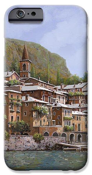 Sul Lago di Como iPhone Case by Guido Borelli