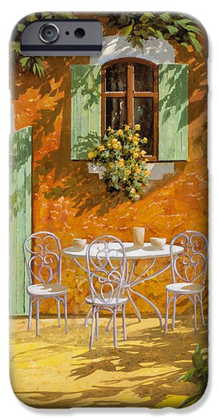 sul patio iPhone Case by Guido Borelli