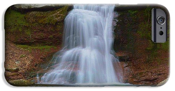 Creek iPhone Cases - Sullivan Falls Pennsylvania State Game Lands No.13 0485 iPhone Case by Joel E Blyler