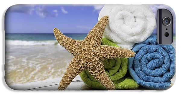 Summer iPhone Cases - Summer Beach Towels iPhone Case by Amanda And Christopher Elwell