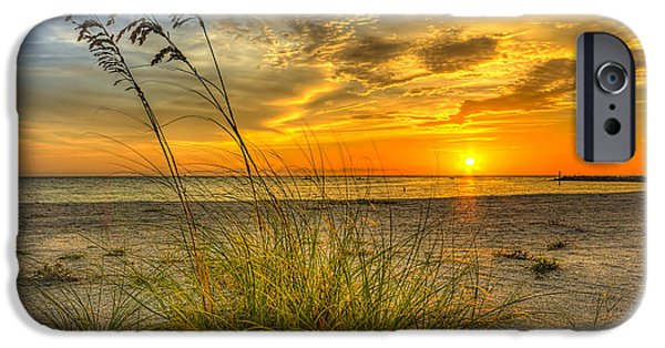 Sand Dune iPhone Cases - Summer Breezes iPhone Case by Marvin Spates