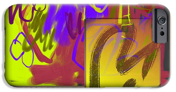 Abstract Digital iPhone Cases - Summer Departing iPhone Case by Janis Kirstein