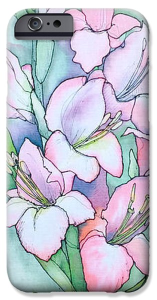 Plant Tapestries - Textiles iPhone Cases - Summer Dream iPhone Case by Natalya Zaytseva