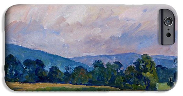 Recently Sold -  - Shed iPhone Cases - Summer Haze Berkshires iPhone Case by Thor Wickstrom