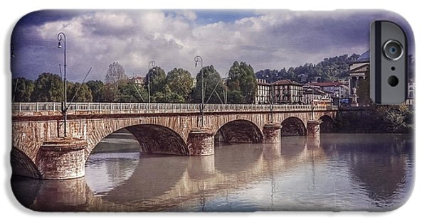 Pastel iPhone Cases - Summer in Turin  iPhone Case by Carol Japp